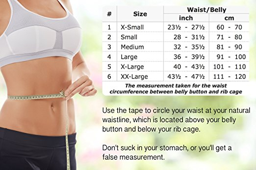 toros group posture corrector size chart