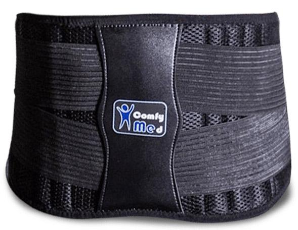 comfymed premium quality back brace