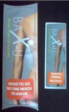 bax-u posture corrector package