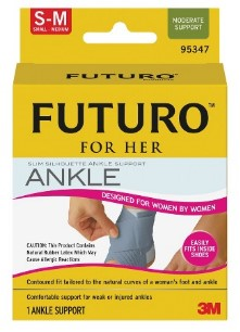 futuro ankle brace for her