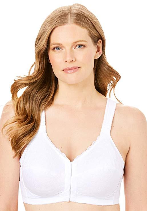 Comfort Choice Women's Plus Size Soft Cup Posture Bra